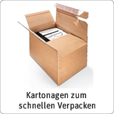 Kartonagen zum schnellen Verpacken