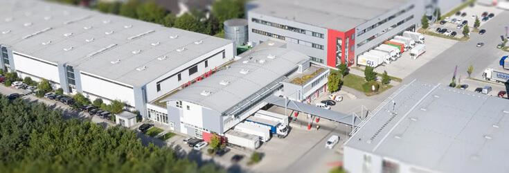 Gebäude Zentrale Pliening