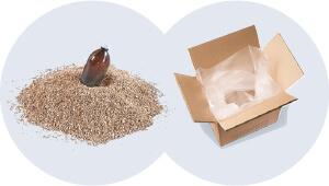 2. Schritt: Füllmaterial auswählen