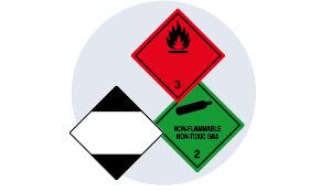 2. Schritt: Gefahrgut richtig kennzeichnen