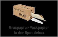 Graspapier Abrollbox